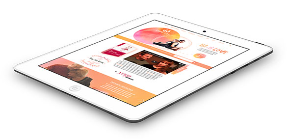 lovers-yoga-ipad - Website Design & Web Development Company India - Digital Agency | 76 Degree Creative