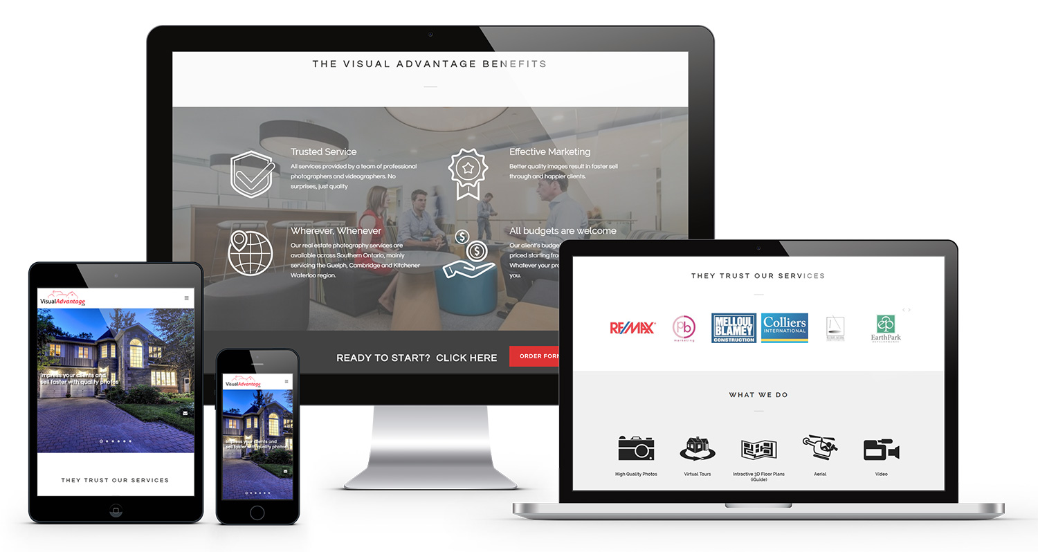 visual-advantage-website - Case Study: Visual Advantage